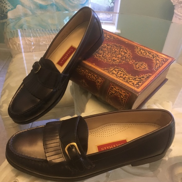 a122e34d667 Cole Haan Other - Men s Cole Haan Black pinch buckle loafer EUC